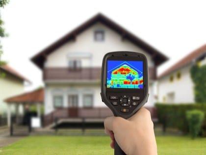 DIAGNOSTIC PERFORMANCE ÉNERGÉTIQUE - DPE - caméra thermique