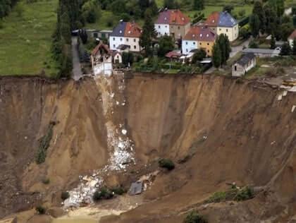 ERNMT ERP glissement de terrain